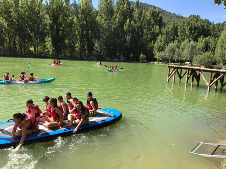 campamento de verano