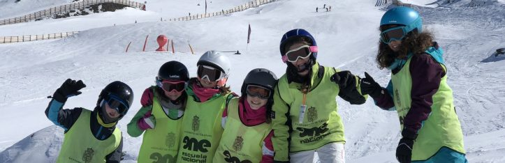escolares a sierra nevada