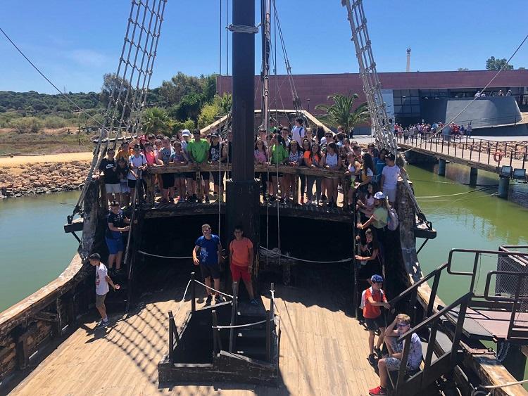 excursion escolar lugares colombinos viaje fin de curso a Doñana