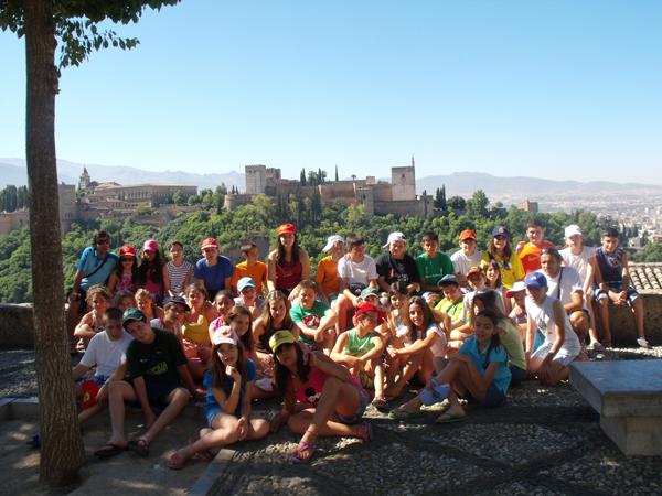 viaje fin de curso a granada.excursión escolar a granada y la Alhambra Granada Nazari.