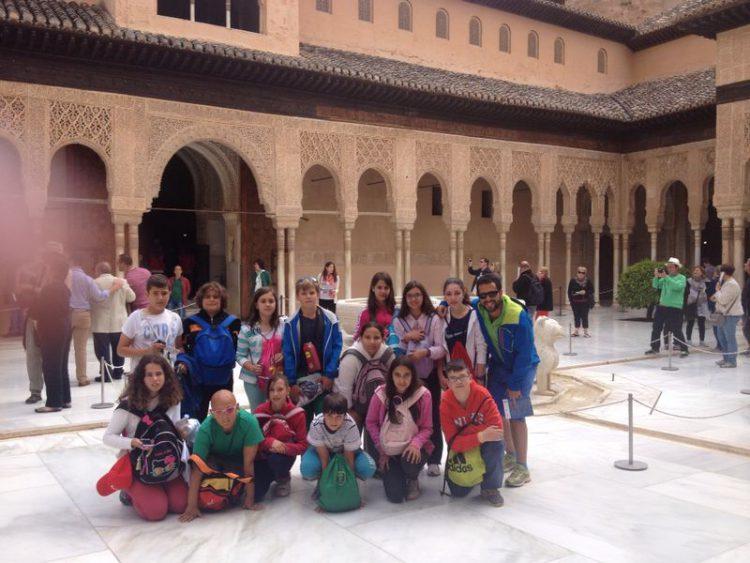 viaje fin de curso a la alhambra excursión escolar a granada y la Alhambra