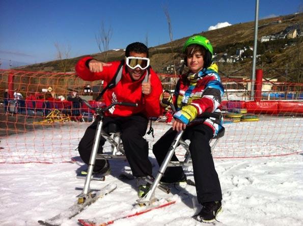 escolares a sierra nevada.Excursión escolar a sierra nevada