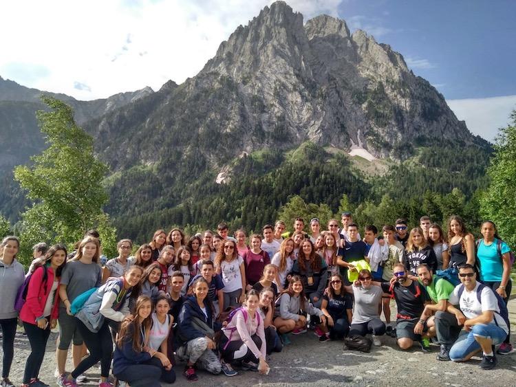 viaje fin de curso a pirineos