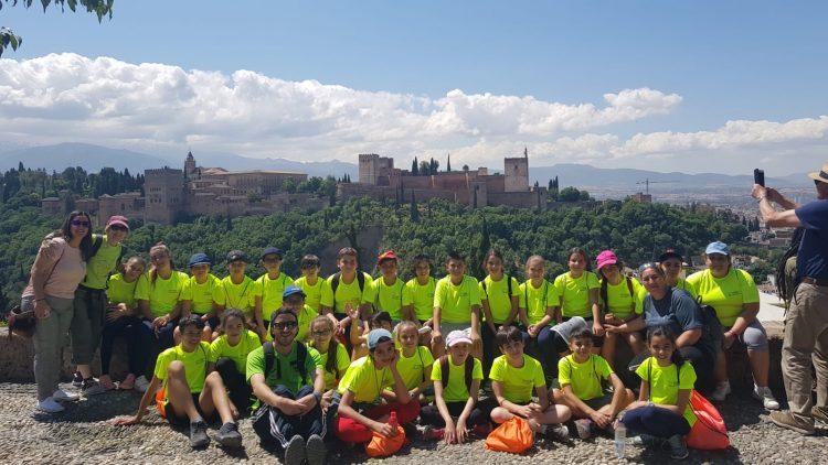 viaje fin de curso a granada.excursion escolar granada parque de las ciencias.Excursión escolar Granada Nazarí.