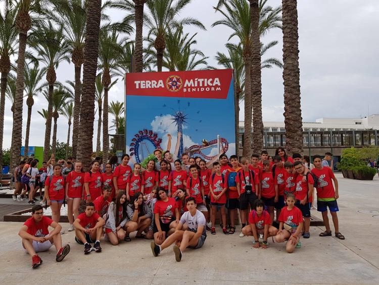 viaje fin de curso Valencia Ciudad ciencias y Terra Mitica