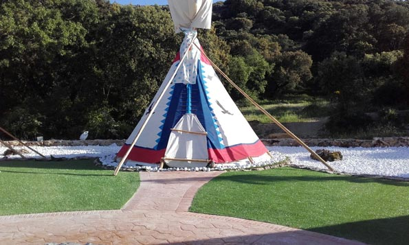 Cherokee camp