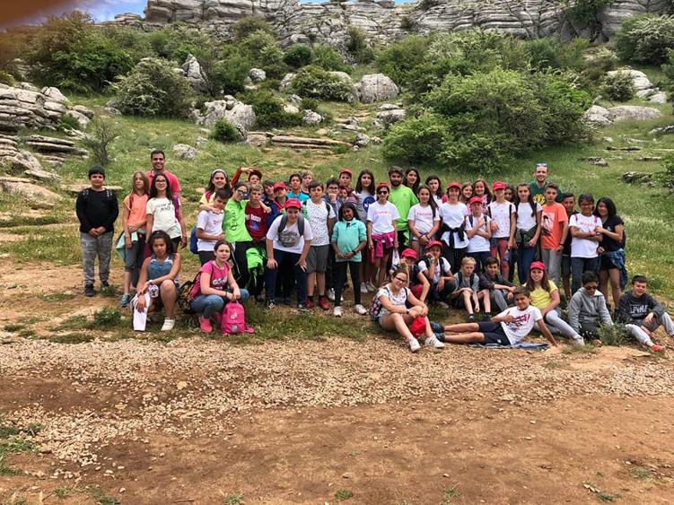 excursion escolar viaje fin de curso al torcal
