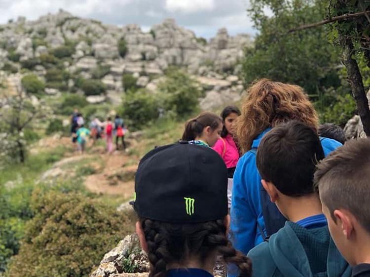 viaje fin de curso excursion al torcal
