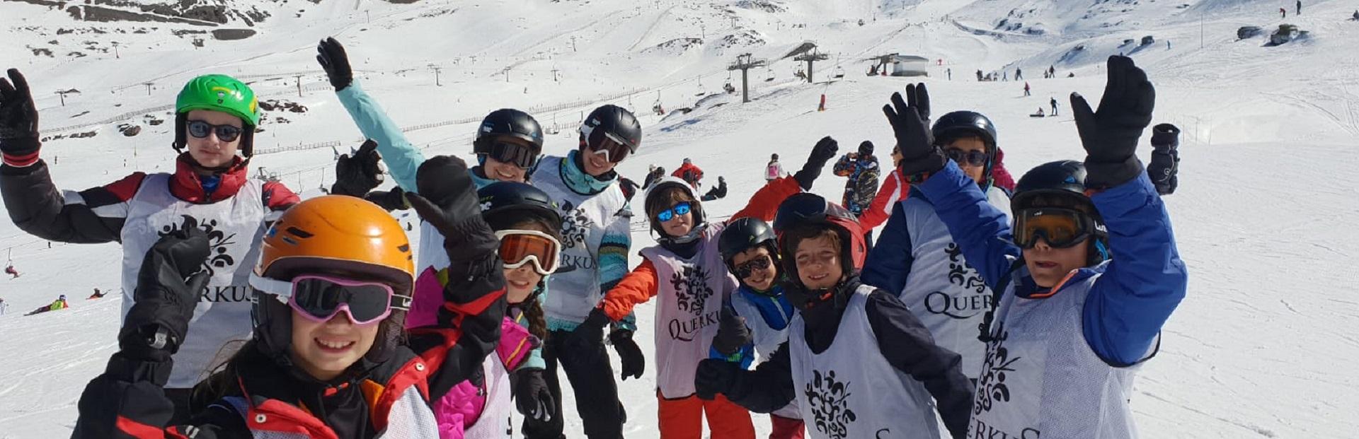 viaje escolar esqui Snow sierra nevada