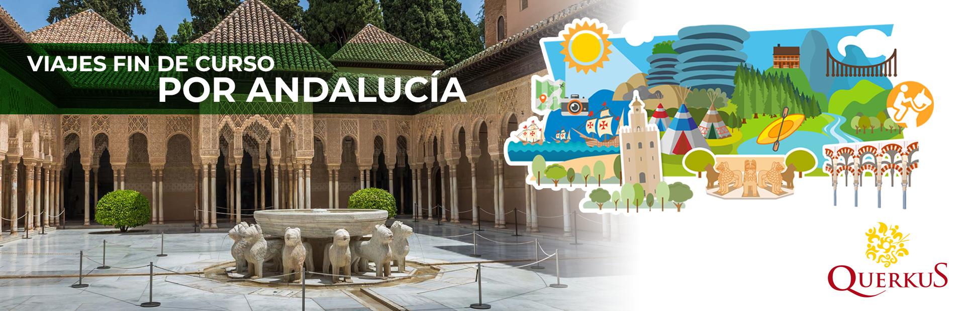Viajes fin de curso Andalucía
