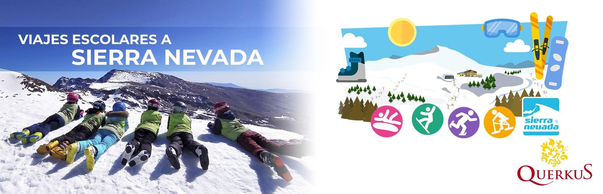 Viajes escolares a Sierra Nevada