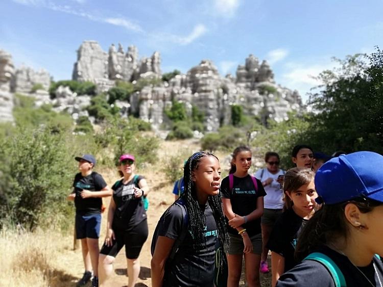 excursion escolar al torcal de Antequera