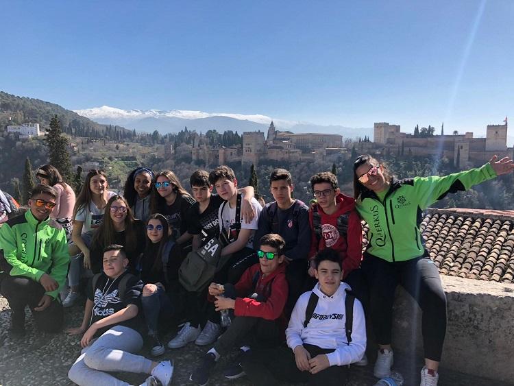 viaje fin de curso granada. excursion escolar granada parque de las ciencias Granada Nazaríes
