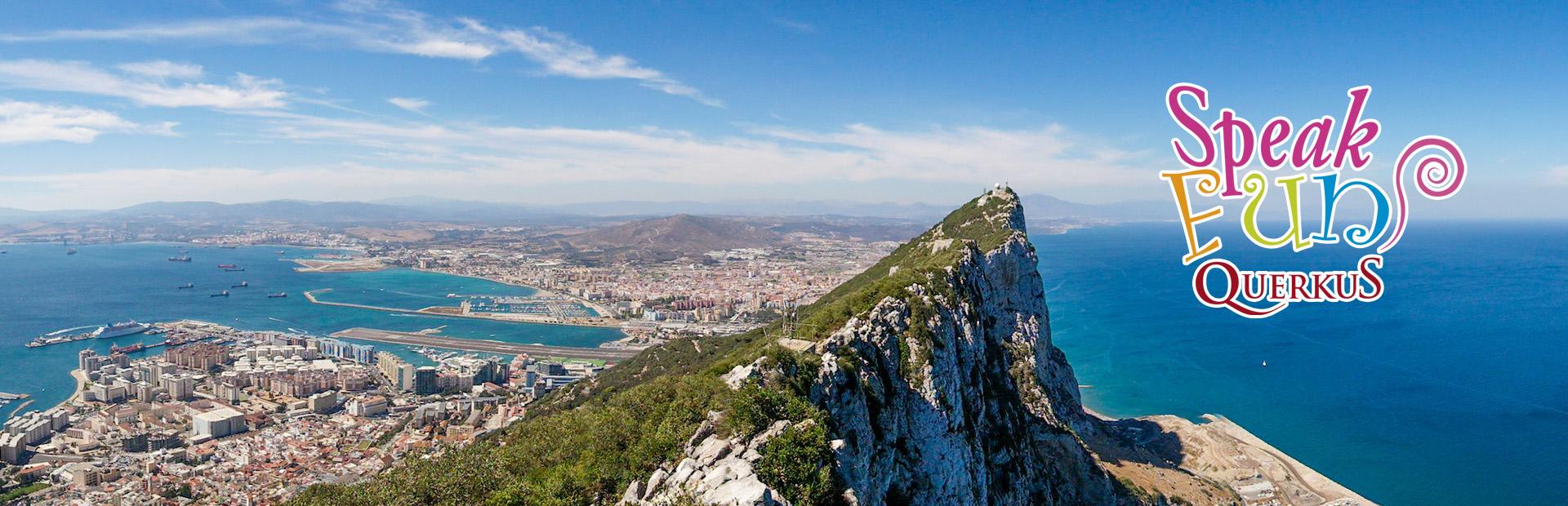 viaje fin de curso inmersión lingüística. Excursión escolar bilingüe Gibraltar.
