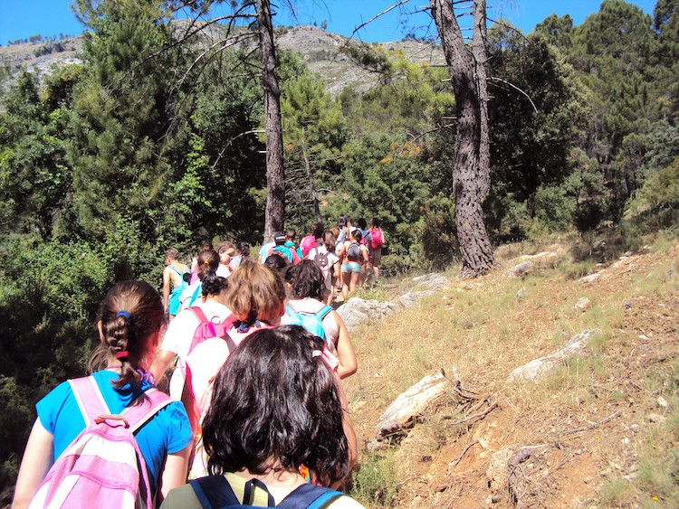 excursión escolar sierra de cazorla. viaje fin de curso a cazorla