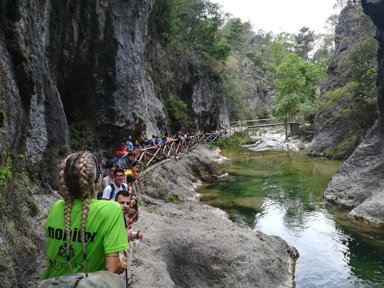 jornadas naturaleza excursión escolar sierra de cazorla. viaje fin de curso a cazorla
